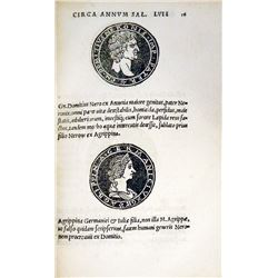 The 1525 First Edition of the Second Illustrated Numismatic Book