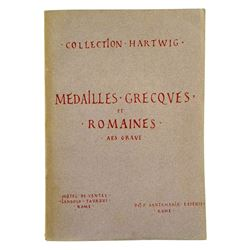 Collection Hartwig: Médailles Grecques et Romaines