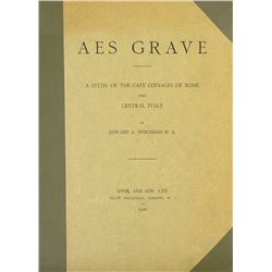 Sydenham's 1926 Study of the Aes Grave
