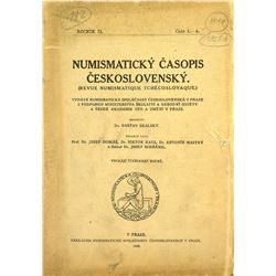 Czechoslovakian Numismatic Journal