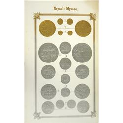 With 96 Fine Embossed Plates of Gold & Silver Coins