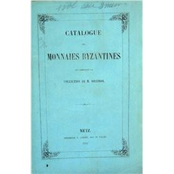 Rare Catalogue of the Byzantine Collection of M. Soleirol