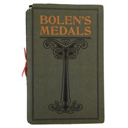Bolen's Very Rare 1905 Catalogue of His Medals, Cards & Facsimiles