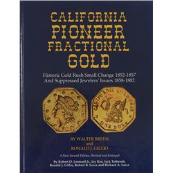 Hardcover Second Edition Breen & Gillio on California Fractional Gold