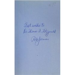First Edition, First Printing Red Book Inscribed & Signed by R.S. Yeoman