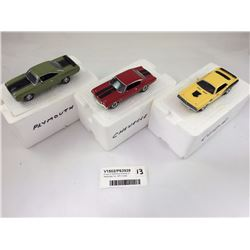 Group of Matchbox Models of Yesteryear Inc. 1971 Cuda