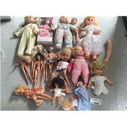 Group of Vintage Dolls Inc. Matell