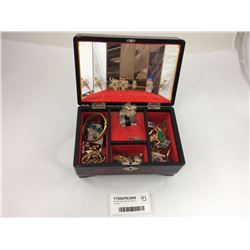 Jewellery Box With Contents Inc. Sterling