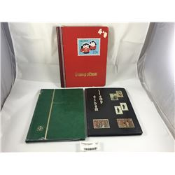 Group of Stamp Albums