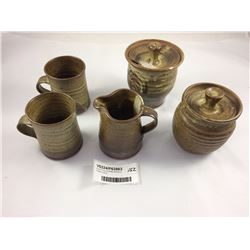 Good Group of Peter Stichbury Pottery Items
