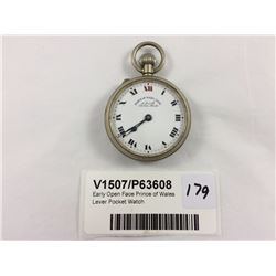 Early Open Face Prince of Wales Lever Pocket Watch