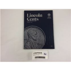 Whitman Folder of Linclon Cents 1941-1974 Inc. Coins