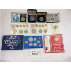 Group of Assorted Uncirculated Coins & Sets