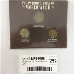 Carded USA 'The Patriotic Coins of WWII'