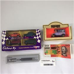 Group of Assorted Items Inc. Parker Pen