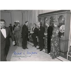 King Hussein of Jordan and Richard von Weizsacker