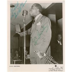 """Louis Armstrong and Earl """"Fatha"""" Hines"""