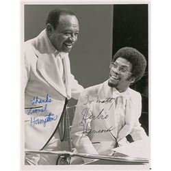 Lionel Hampton and Herbie Hancock
