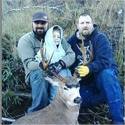Spot and Stalk Five Day Black Tail Deer Hunt for One