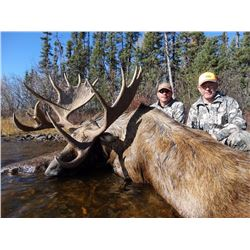 Six Day Moose Hunt for One