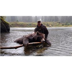 10 Day Spring or Fall Hunt for Brown Bear for One