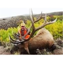Three Day, Two Night Trophy 350+ Rocky Mountain Bull Elk Hunt for One Hunter and One Non-Hunter