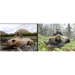 One on One Ten Day Grizzly and Black Bear Hunt for One