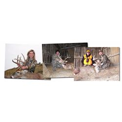 6 Day Muzzleloader Hunt for Whitetail Deer for One