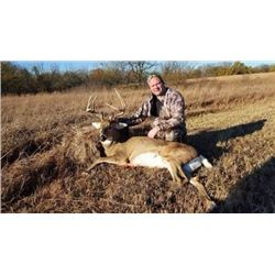 Five Day Trophy Whitetail Deer Hunt for One