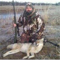 Three Day Hunt for Coyotes and Bobcats for One