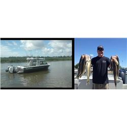 6 Hour Walleye Fishing Trip for 4 people on Saginaw Bay