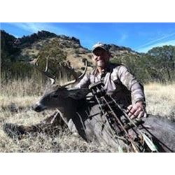 2 Hunters, 5 Days, Arizona Coues Deer hunt with Wards Outfitters