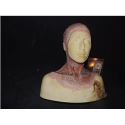 LAST WITCH HUNTER DEAD ROTTEN ZOMBIE FEMALE MAKE UP COWL ON FULL BUST 2