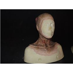 LAST WITCH HUNTER DEAD ROTTEN ZOMBIE FEMALE MAKE UP COWL ON FULL BUST 5