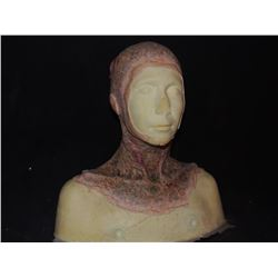LAST WITCH HUNTER DEAD ROTTEN ZOMBIE FEMALE MAKE UP COWL ON FULL BUST 6