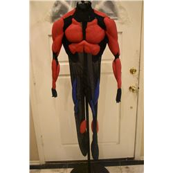 SPIDER-MAN 2 & 3 SCREEN USED HERO MUSCLE SUIT WORN BY TOBEY MAGUIRE