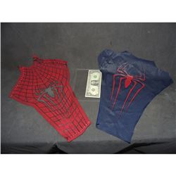 SPIDER-MAN THE AMAZING 2 SUIT CHEST AND BACK WITH GLYPHS AND WEBBING