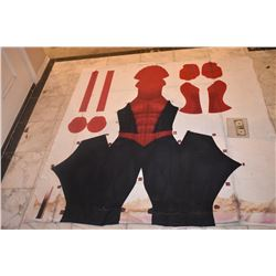 SPIDER-MAN 2 UNCUT HERO SUIT #5 USED FOR DEVELOPMENT OF SPIDER-MAN 3 SUITS