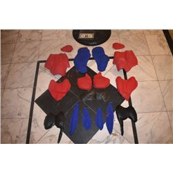 SPIDER-MAN 2 & 3 SCREEN USED HERO MUSCLE SET WORN BY TOBEY MAGUIRE
