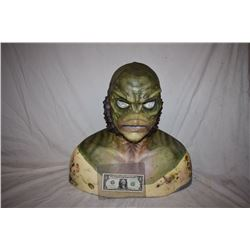 CREATURE FROM THE BLACK LAGOON LIKE THE QUEST RANA SCREEN USED SILICONE MASK 05