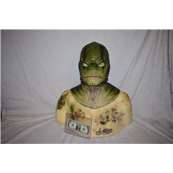 CREATURE FROM THE BLACK LAGOON LIKE THE QUEST RANA SCREEN USED SILICONE MASK 09