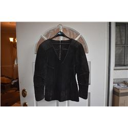 BATTLESTAR GALACTICA SCREEN WORN LEATHER SWEDE JACKET