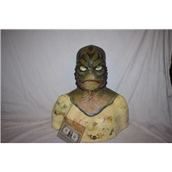 CREATURE FROM THE BLACK LAGOON LIKE THE QUEST RANA SCREEN USED SILICONE MASK 5
