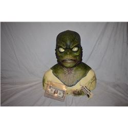 CREATURE FROM THE BLACK LAGOON LIKE THE QUEST RANA SCREEN USED SILICONE MASK 7