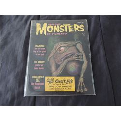 FAMOUS MONSTERS OF FILMLAND #04 GHOUL'S EYE COPY VERY RARE