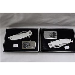 2 - Folding Knife & Lighter Combo