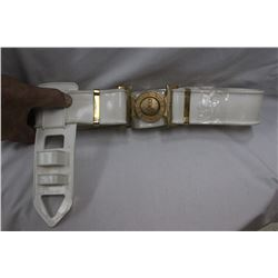 "White Belt and Sheath ""ARTE ET MATE"" which means ""By Skill and by Force"" Canadian Forces"