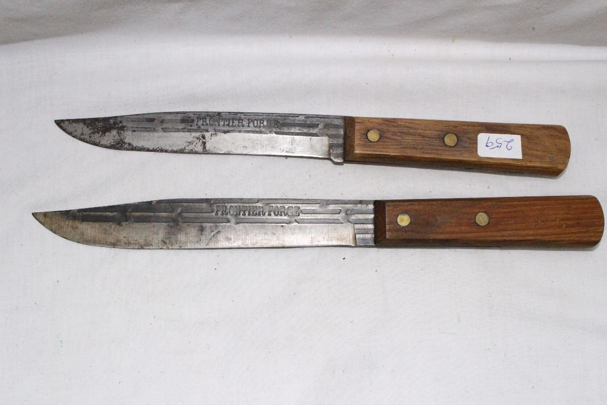 2 FRONTIER FORGED Kitchen Knives