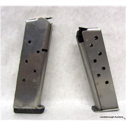 2 SMITH AND WESSON 639 PISTOL MAGS
