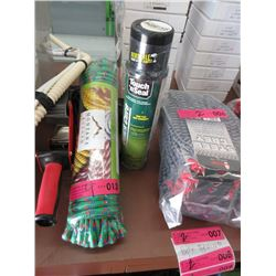 Foam Sealant, Rope, Heat Gun & Tape Gun